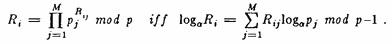 Merkle-Adleman Algorythmus