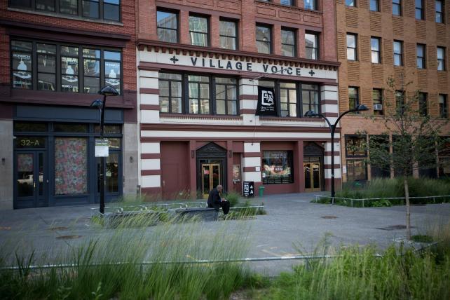 Village Voice, New York. Quelle: AdAge.